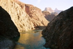 The Colorado River near Phantom Ranch