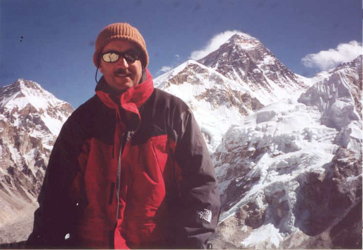 Kala Pattar, Nepal, 18,373', Mount Everest in the Background