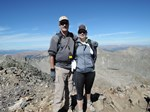 On the summit of Quandary Peak, 14,265'
